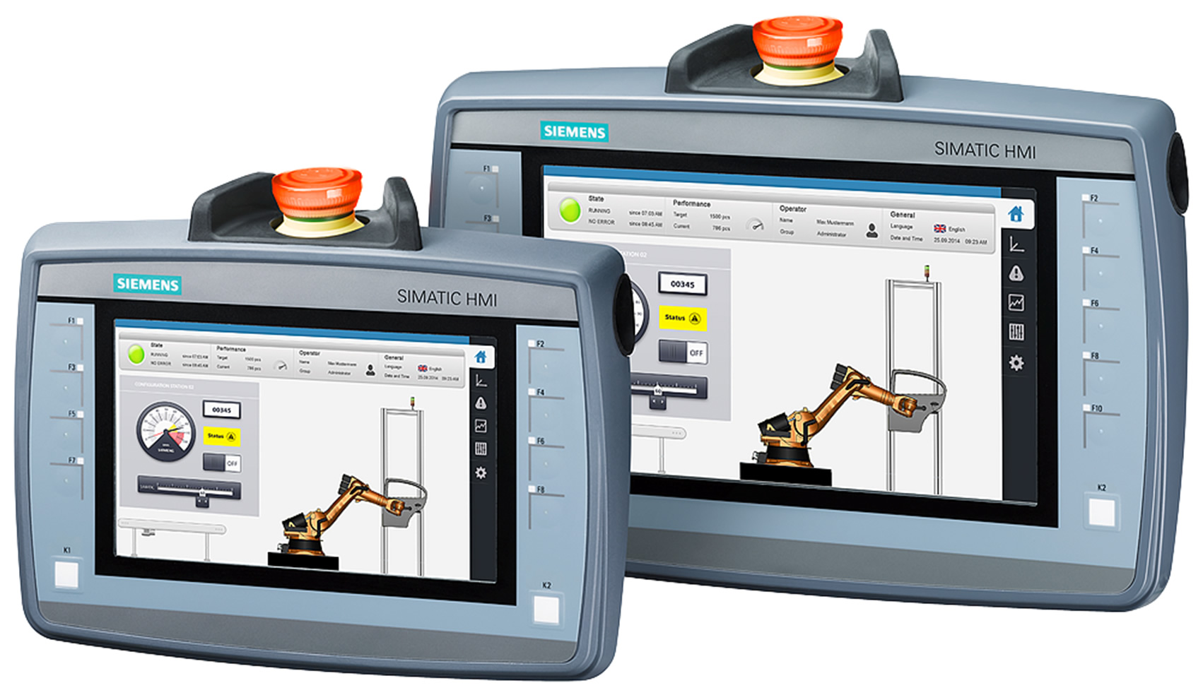 Siemens Energy Monitoring Systems : Mobile panels nd generation triflex