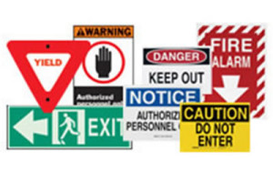 Brady Safety Sign and Labels